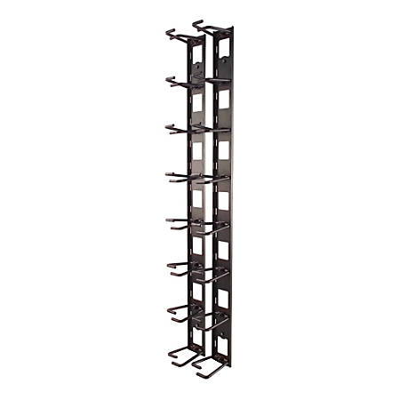 APC Vertical Cable Organizer - Cable Manager - Black