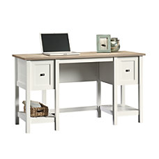 Sauder Cottage Road Desk Soft White