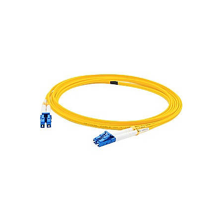 AddOn 1m ALC (Male) to ALC (Male) Yellow OS1 Duplex Fiber OFNR (Riser-Rated) Patch Cable