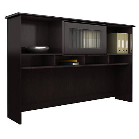 """Bush Furniture Cabot 60"""" Hutch, Espresso Oak, Standard Delivery"""