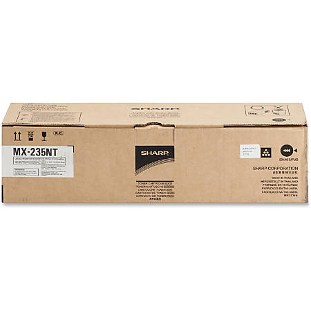 Sharp MX-235NT Original Toner Cartridge - Laser - 16000 Pages - Black - 1 Each