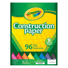Crayola Construction Paper 9 x 12