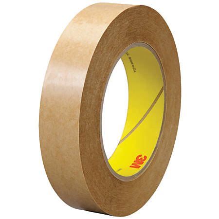 "3M™ 463 Adhesive Transfer Tape, 3"" Core, 1"" x 60 Yd., Clear, Case Of 6"