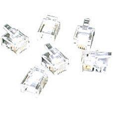 C2G RJ11 6x4 Modular Plug for