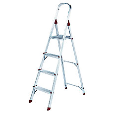 Louisville 4 Alum Platform Step Ladder