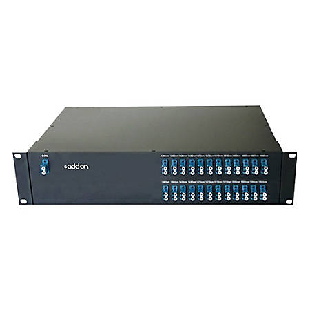 AddOn 24 Channel DWDM MUX/DEMUX 19inch Rack Mount with LC connector