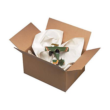 "B O X Packaging Pre-Cut Newsprint Sheets, 36"" x 48"", Unprinted, Pack Of 415"