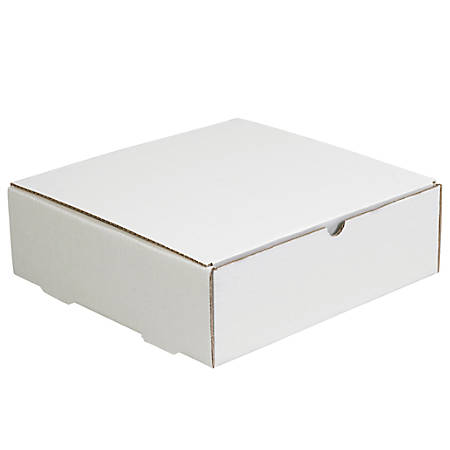 """Office Depot® Brand Literature Mailers, 13"""" x 13"""" x 2"""", White, Pack Of 50"""