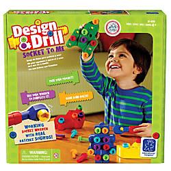 Educational Insights Design Drill Socket To