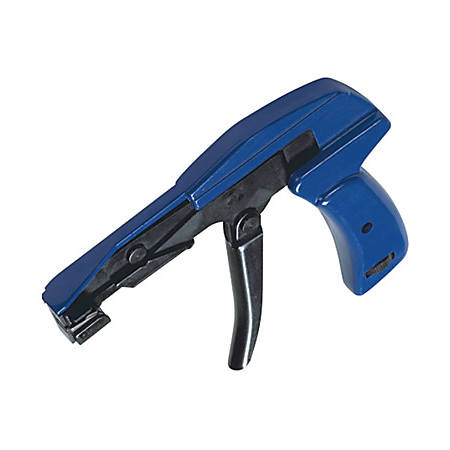 Box Packaging CTG704 Cable Tie Gun, Dark Blue
