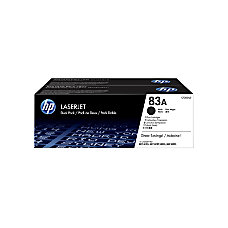 HP 83A Black Toner Cartridges CF283AD