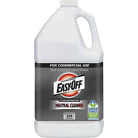 Easy-Off Professional Concentrated Neutral Cleaner - Liquid - 1 gal (128 fl oz) - Neutral Scent - 1 Each - Blue