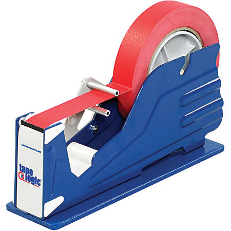 Tape Logic® Table Top Tape Dispenser, Single Roll, Blue