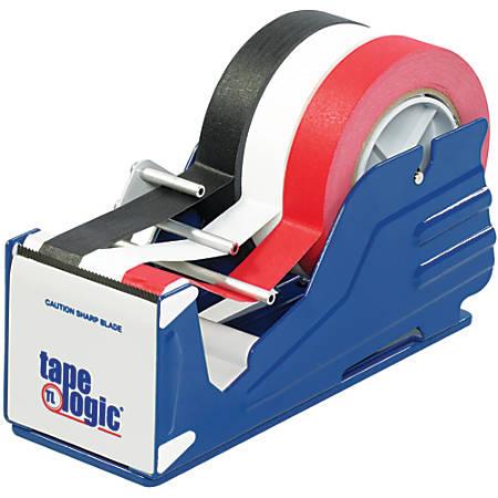 """Tape Logic® Multi-Roll Tabletop Tape Dispenser, 3"""", Blue"""