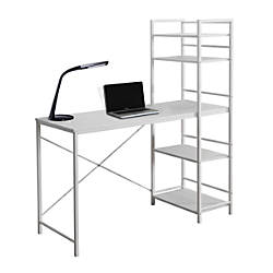 Monarch Specialties Metal Computer Desk White