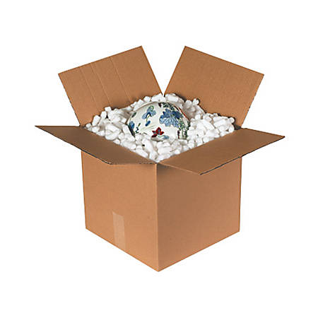 Box Packaging Biodegradable Loose Fill, 12 Cu Ft