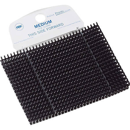 "GBC® ProClick® Pronto Cassette - 0.31"" Maximum Capacity - 40 x Sheet Capacity - Navy - 100 / Box"