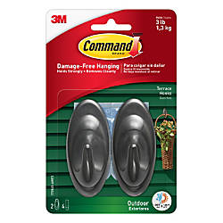 3M Command Terrace Hooks With All