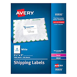 Avery Bulk Shipping Labels 95935 3