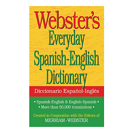 Federal Streets Press Webster's Everyday Spanish-English Dictionary Paperback Edition