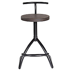 LumiSource Mantis Industrial Stool Counter Height
