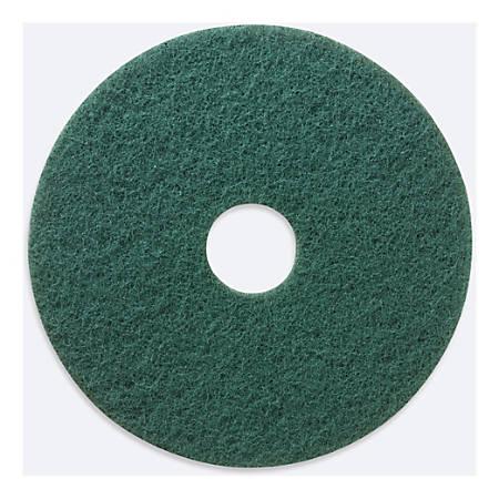 "Niagara 5400N Scrubbing Pads, 15"", Green, Pack Of 5 Pads"