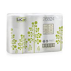 LoCor 2 Ply Bath Tissue White