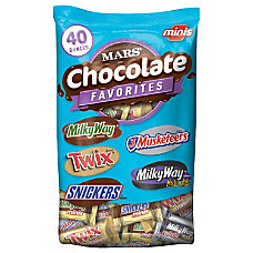 MARS Chocolate Favorites Minis Size Candy