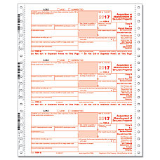 ComplyRight 1099 A Continuous Tax Forms