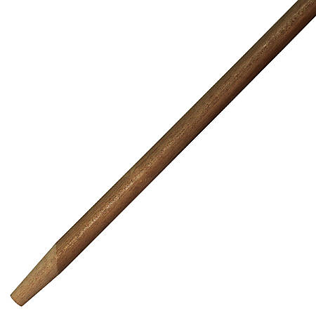 "Genuine Joe Squeegee Handle - 60"" Length - 1.13"" Diameter - Natural - Wood"