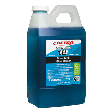 Betco® Green Earth® Glass Cleaner, 2 Liter, Case Of 4