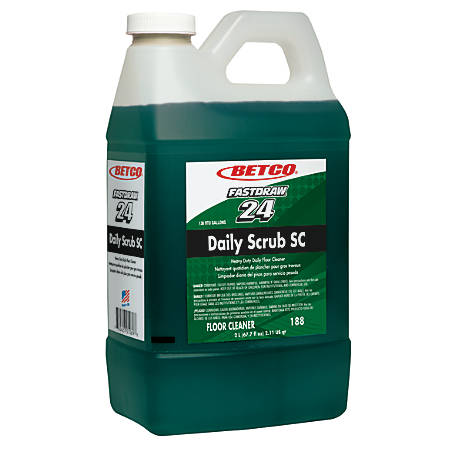 Betco® Daily Floor Scrub SC, 2.5 Gallon, Pack Of 4