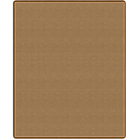"Flagship Carpets All Over Weave Area Rug, 10' 9"" x 13' 2"", Tan"
