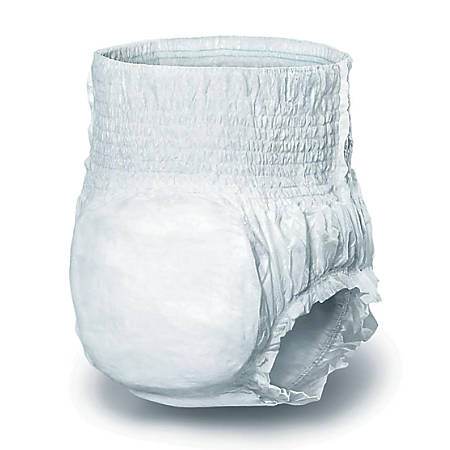 """Protect Plus Protective Underwear, X-Large, 56 - 68"""", White, 25 Per Bag, Case Of 4 Bags"""
