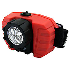 Dorcy Head Light AAA Plastic Red