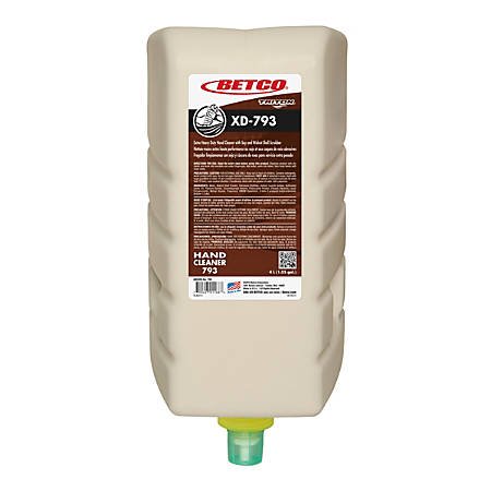 Betco® Triton® Xd-793 Soap, Nutty Scent, 135.26 Oz, Light Beige, Pack Of 4 Bottles