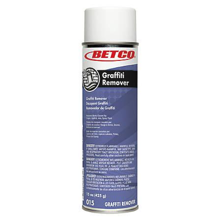 Betco® Graffiti Aerosol Remover, 15 Oz, Case Of 12