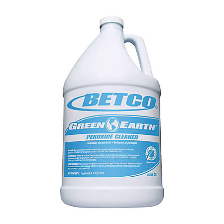 Betco® Green Earth® Peroxide Cleaner Concentrate, 1-Gallon, Pack Of 4