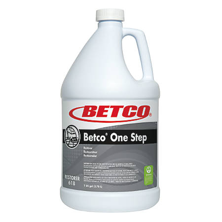 Betco® One Step Restorer, Citrus Scent, 128 Oz, White, Case Of 4 Restorers