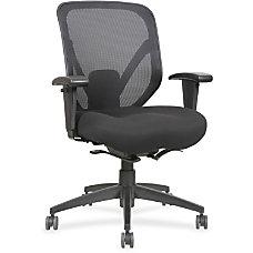 Lorell Self Tilt Mid Back Chair