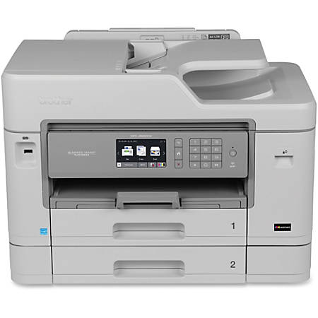 Brother Business Smart MFC-J5930DW Inkjet Multifunction Printer - Color - Desktop - Duplex Printing