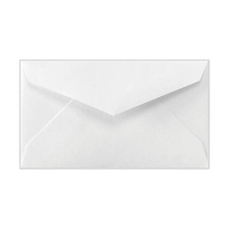 """LUX Mini Envelopes With Moisture Closure, #3, 2 1/8"""" x 3 5/8"""", Bright White, Pack Of 50"""