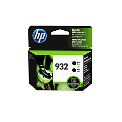 HP 932 Black Original Ink Cartridges