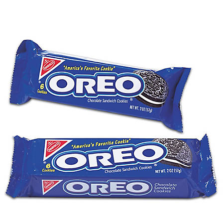 Oreo® Sandwich Cookies, 1.8 Oz, Box Of 12