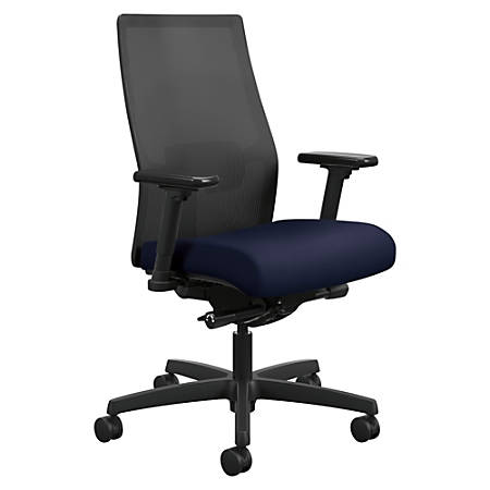 HON® Ignition Mesh Task Chair, Navy