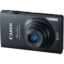 Canon ELPH 320 HS 16.1 MP 5X Optical Zoom Black Digital Camera