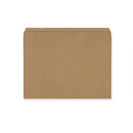 Smead® Straight-Cut Kraft File Folders, Letter Size, Kraft, Box Of 100