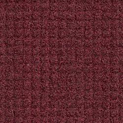 "M + A Matting Brush Hog Plus Floor Mat, 36"" x 60"", 20% Recycled, Burgundy Brush"
