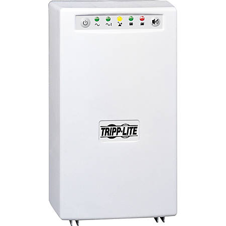 Tripp Lite UPS Smart 1000VA 750W Tower Hospital Medical AVR 120V USB DB9 - 1000VA/750W - 10 Minute Full Load - 4 x NEMA 5-15R