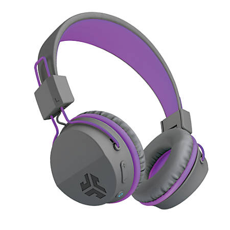 JLab Audio Intro Bluetooth® Over-The-Ear Headphones, Purple, HBINTRORPRLP4